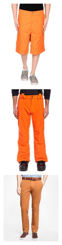 """Men's Orange Pants"" by eternalfeatherfilm on Polyvore featuring men's fashion, men's clothing, orange, carhartt, men's apparel, mens clothing, men's pants, men's casual pants, brown and mens chinos pants"