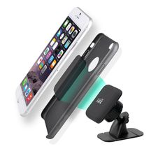 Magnetic Dash Car Mount with Bendable Base Adhesive Dashboard Windshiled Cell Phone Holder for iPhone Android Phones Car Cell Phone Holder, Air Vent Phone Holder, Clean Car Seats, All Smartphones, Phone Gadgets, Neodymium Magnets, Leather Cleaning, Car Mount, Docking Station