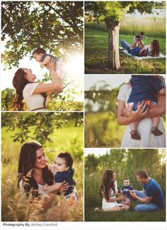 {NEW POST} Family Picture Ideas: Sunshine in the Park...the light in these photos is just dreamy...what do you think?:)