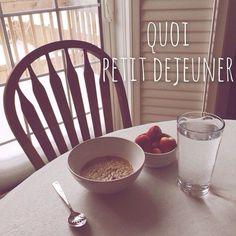 Lorsqu'on commence à rééquilibrer son alimentation on commence à revoir son petit-déjeuner. Quoi manger le matin pour être en forme et perdre du poids