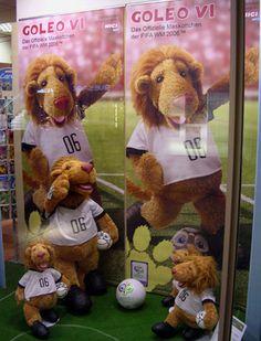 Goleo World Cup Mascot.