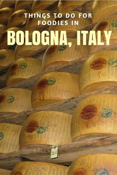 Things to do for foodies in Bologna, Italy - visit a Parmigiano-Reggiano Factory: