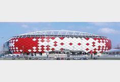 AYA shortlists: Sports & Leisure Architect of the Year Fc Spartak Moscow, Dots Design, Dexter, Landscape Architecture, Building Design, Louvre, Sketch, Patterns, Sports