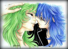 MiloxShaina before first kiss...