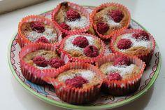 Healthy: Recept voor gezonde cupcakes met framboos die geen suiker bevatten. Lekker als gezonde snack, of als traktatie.