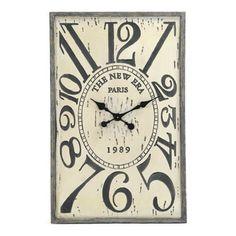 Zentique Wooden Clock | Wayfair