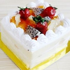 Fruit Sponge Cake gluten-free-foods