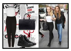 """""""Celebrity look: Perrie Edwards from Little Mix"""" by lovecostarica ❤ liked on Polyvore featuring Chanel, Topshop, Converse, Louis Vuitton, GetTheLook, littlemix, perrieedwards and CelebrityStyle"""