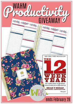 WAHM Productivity Giveaway