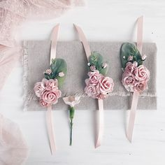 Items similar to Blush Flower wrist corsage, Blush bridesmaids corsage on Etsy Pink And White Flowers, Blush Flowers, Bridal Flowers, Bridesmaid Corsage, Corsage Wedding, Wedding Sash, Wrist Corsage Bracelet, Flower Box Gift, Floral Crown