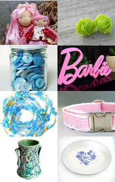 The Colors of Spring by Karyn on Etsy--Pinned with TreasuryPin.com
