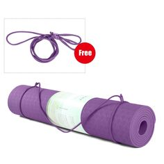 TPE Yoga Mat with Position Line Non Slip Carpet Mat High Density For Beginner Environmental Fitness Gymnastic Mat Product Description: Made by best quality TPE material, printed postion Center Line, Centre, Meditation Mat, Gymnastics Mats, Resistance Band Exercises, Deep Tissue, Yoga Accessories, Pilates Workout, Best Yoga