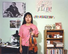 Poignant Photos of 1990s #Teenagers in Their Bedrooms — #Photography via @featureshoot