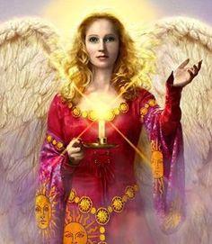 Archangel Hanniel Angel of Joy
