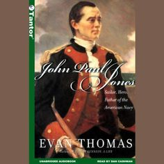 "John Paul Jones is more than a great sea story. Jones is a character for the ages. John Adams called him the ""most ambitious and intriguing officer in the American Navy."" The renewed interest in the Founding Fathers reminds us of the great men who made this country, but John Paul Jones teaches us that it took fighters as well as thinkers, men driven by dreams of personal glory as well as high-minded principle to break free of the past and start a new world. audible"