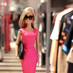 One must always find time for shopping when in New York and @kirnazabete is at the top of my list. So great to see you @kirna & @bethbuccini, Happy 15th Birthday! #happy15kz #nyfw #barbie #barbiestyle
