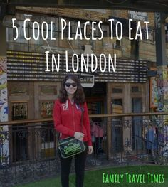 What are Jess' favourite 5 places to eat in London? From ice cream, to Mexican food, to bubble tea...