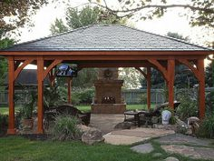 Backyard Gazebo Ideas | pinned by lynn gleason