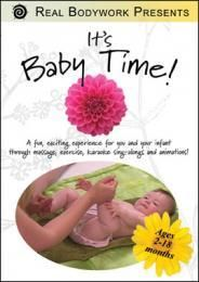 Click to get It's Baby Time DVD. A fun, exciting experience for you and your infant featuring massage, exercise, karaoke sing-alongs and animations!  DVD's on special till July 31, 2012 Enter Coupon code JulyDVD when you check out to get 25% off when you buy any 2 titles... $27.06