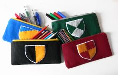Harry Potter themed pencil cases
