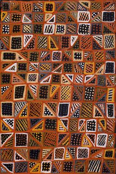 Bett Gallery Hobart - Aboriginal Art - Jean Baptiste Apuatimi - Tap the link to see the newly released collections for amazing beach bikinis! Aboriginal Painting, Aboriginal Artists, Dot Painting, Indigenous Australian Art, Indigenous Art, Australian Artists, Textures Patterns, Print Patterns, Geometric Patterns