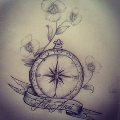 Tattoo inspiration... Compass