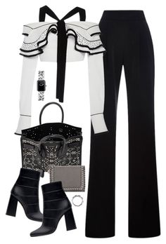 """Untitled #715"" by jennifer1297 ❤ liked on Polyvore featuring Misha Nonoo, Proenza Schouler, Yves Saint Laurent, Zara, STELLA McCARTNEY, Chanel, women's clothing, women, female and woman"