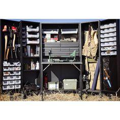The Metal Workbox from the Original ScrapBox ....hahahahaha .... now a ScrapBox for men!