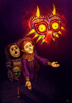 Happy Mask Salesman, The Legend of Zelda: Majora's Mask