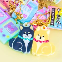 Japanese Pop Culture Duo Charms 2b Pencil, Cute Charms, Colorful Candy, Kawaii Shop, Welcome Gifts, Ball Chain, Your Best Friend, Hanging Out, Pop Culture