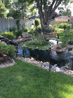 Dicas para construir lagoas em seu jardim # your - Teich / Pond - Paisagismo Backyard Water Feature, Ponds Backyard, Garden Ponds, Backyard Ideas, Garden Pond Design, Landscape Design, Pond Landscaping, Landscaping With Fountains, Pond Fountains