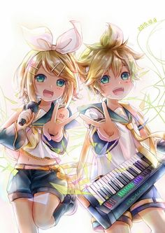 Kagamine Rin And Len Wallpaper Iphone Android Ipad