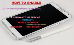enjoy 4g/LTE ON note 3  how to ..............................
