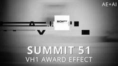 Summit 51 - VH1 Award Effect - After Effects / By: Mt. Mograph