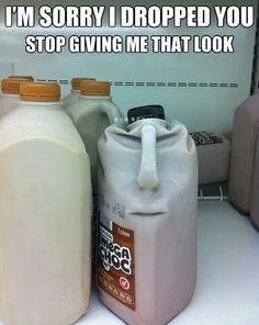 Unimpressed chocolate milk