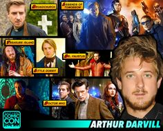 *PIN to WIN* Meet actor Arthur Darvill at #SLCC15! Companion Rory Williams in Doctor Who, Rip Hunter in the upcoming DC's Legends of Tomorrow! #utah