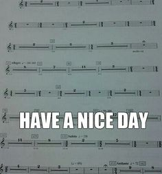 This is the complete opposite of the clarinet. You play the entire song with not even a beat of rest.