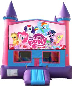 My Little Pony Inflatable Jumper Rental - My Little Pony Bounce House Rentals - North County Jumpers