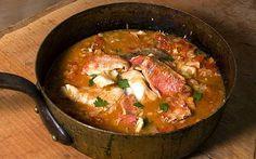 ZUPPA DI PESCE (FISH SOUP) - from Anna del Conte, Italian food guru