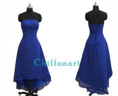 Simple Strapless Dress Short Dress Purple Dress by chiffonarts, $89.00
