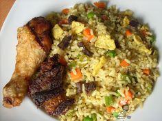 Nigerian Food Recipes TV  Nigerian Food blog, Nigerian Cuisine, Nigerian Food TV, African Food Blog: Nigerian Egg Fried Rice