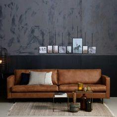 3 sitzer sofa macaza in cognac braun recyclingleder