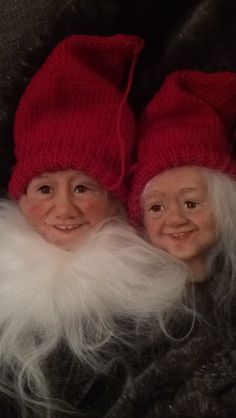 Sculpted by Gerd Asphaug Christmas Gnome, Gnomes, Norway, Sculpting, Winter Hats, Beanie, Handmade, Fashion, Whittling