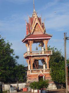 Deolhonoespelho - templo da cidade de Nong Khai