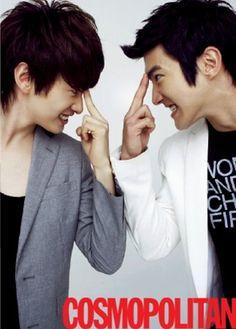 SUPER JUNIOR | <3 Lee Hyukjae/Eunhyuk and Choi Siwon..