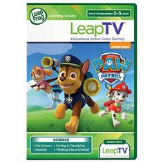 LeapFrog LeapTV PAW Patrol Storm Rescuers Educational Active Video Game >>> Find out more about the great product at the image link.Note:It is affiliate link to Amazon.