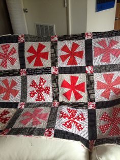 Quilted, all it needs is binding. by mbmathis47, via Flickr