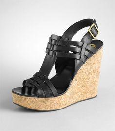 wedges...would be cute with jeans
