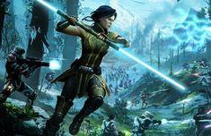 Star Wars Clone Wars, Star Wars Art, Skyrim Concept Art, Satele Shan, Female Jedi, Star Wars History, Darth Bane, Star Wars The Old, Star Wars Characters Pictures