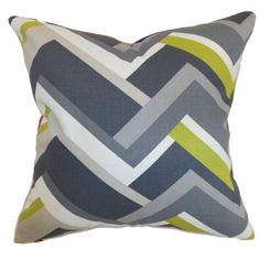 The Pillow Collection Hoonah Geometric Pillow Grey *** Be sure to check out this awesome product.